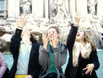 SU Abroad Elizabeth Bennett - Throwing coins into the Trevi Fountain in Rome.jpg